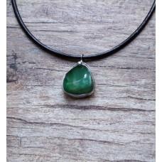 Zelený chalcedon 1